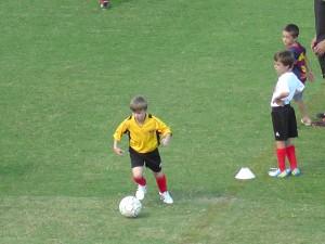 Zane Rodgers takes to the Sunshine Coast Stadium field on Sunday.
