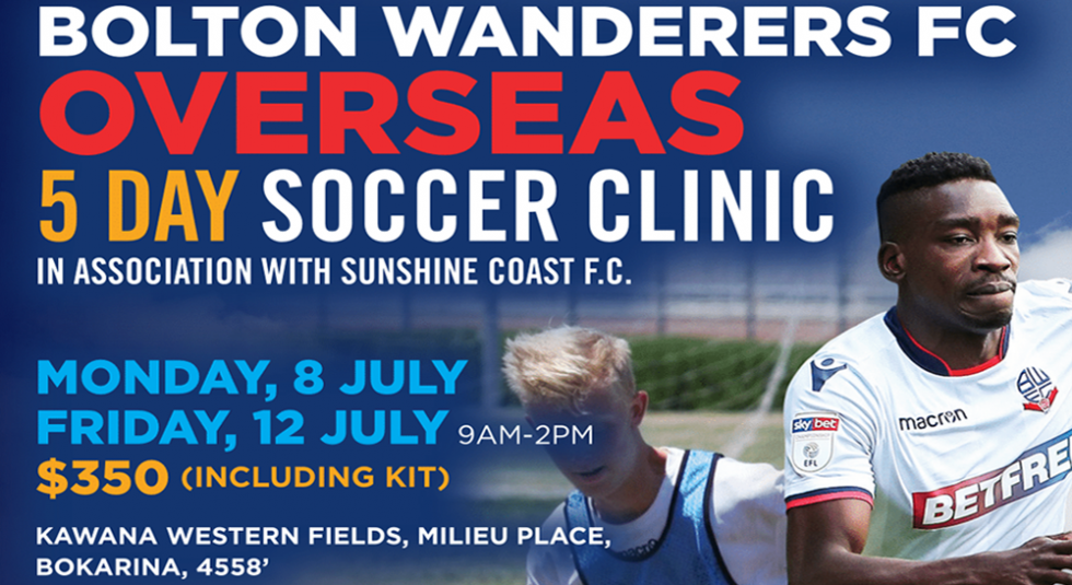Bolton Wanderers Camp July 2019