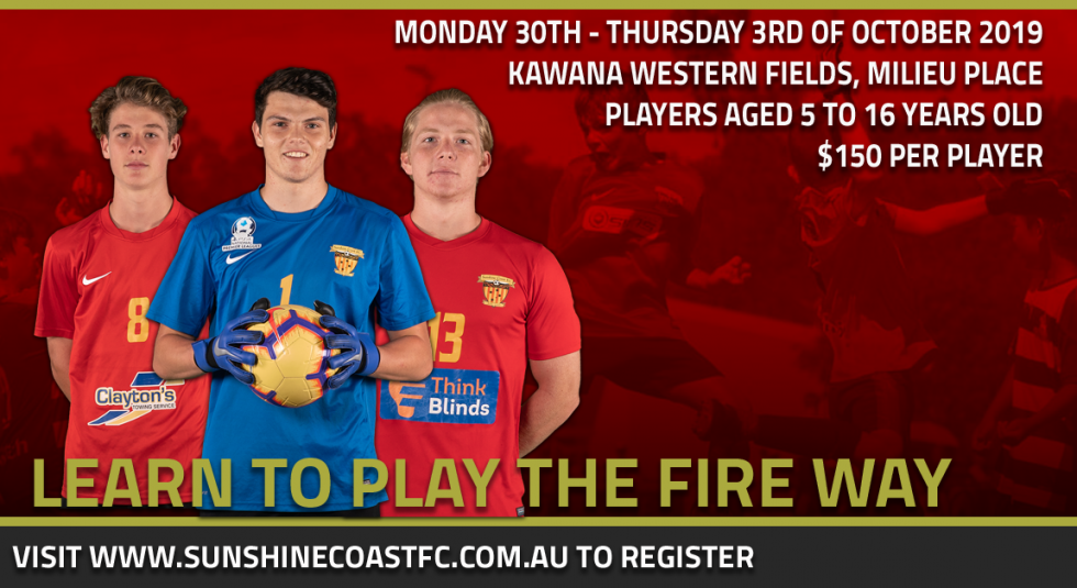 Learn To Play The Fire Way This September/October!